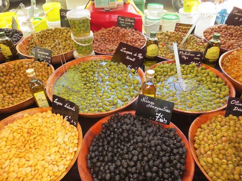 Markt olijven